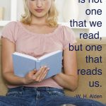 A book that reads us...