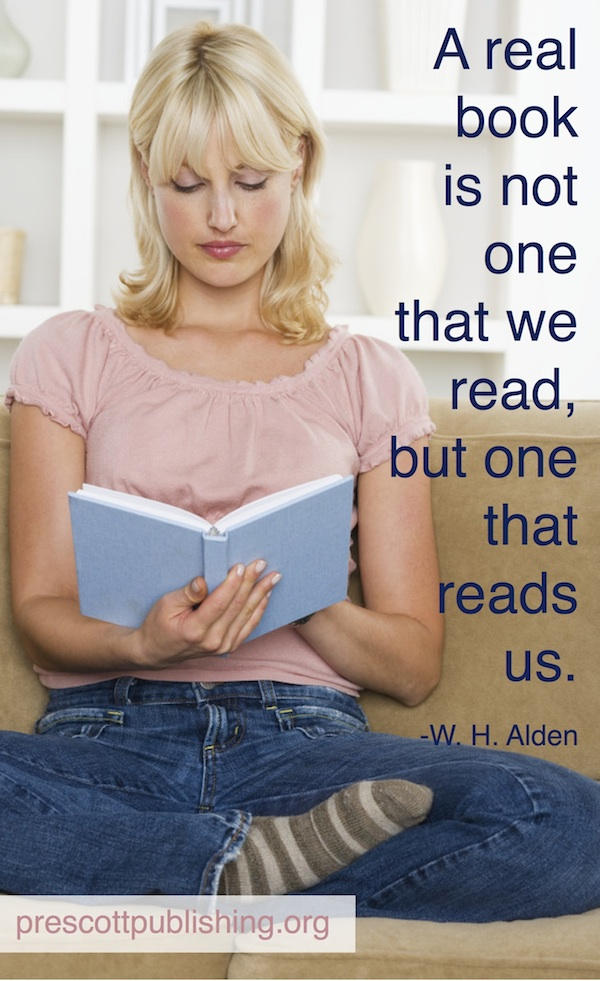 A Book that Reads Us…