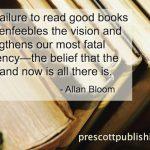 Don't fail to read good books...