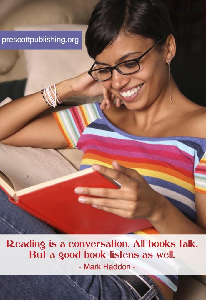 A Good Book Listens