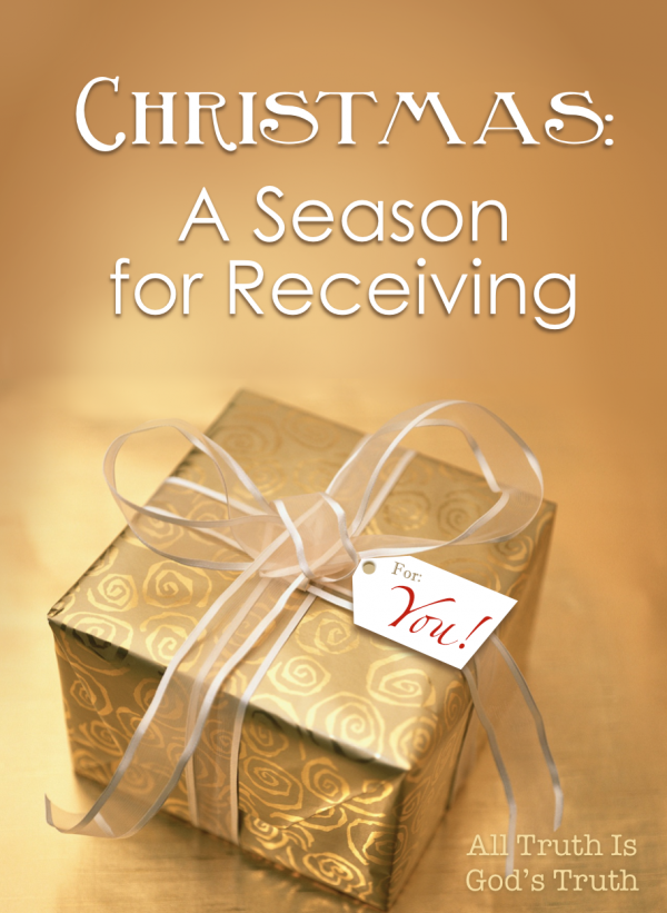 Christmas: A Season for Receiving