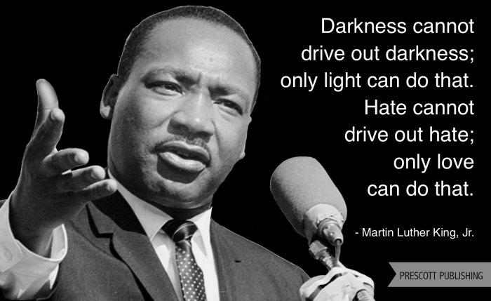 Only Light Can Drive Out Darkness