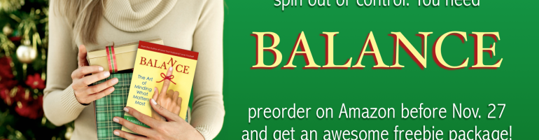 Pre-order BALANCE and get an awesome freebie package!