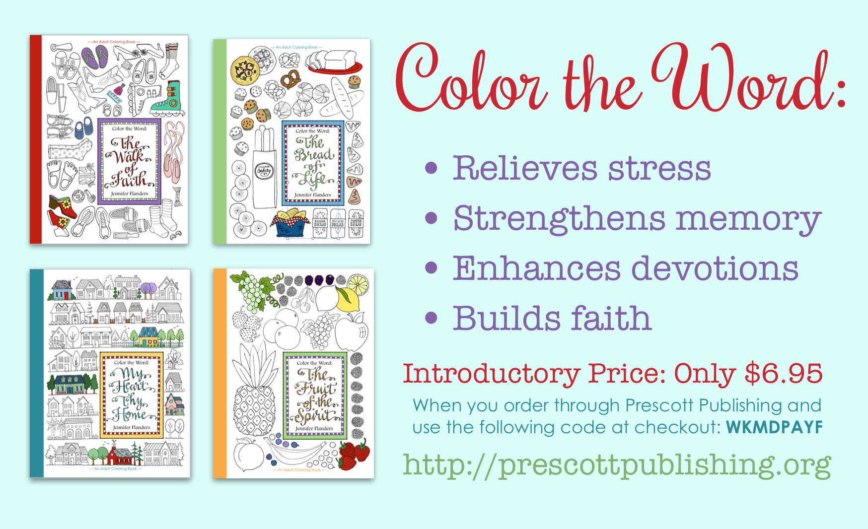 Color the Word: Adult Coloring Books